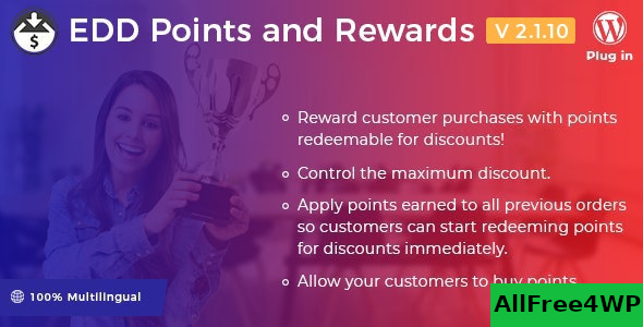 Easy Digital Downloads – Points and Rewards v2.1.10