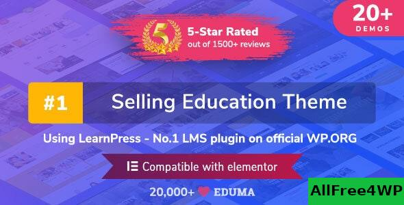 Nulled Eduma v4.2.8.4 – Education WordPress Theme NULLED