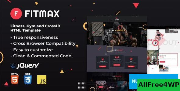 Fitmax v1.0 – Fitness and Crossfit HTML Template