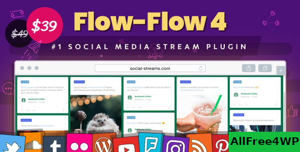 Flow-Flow v4.6.3 – WordPress Social Stream Plugin