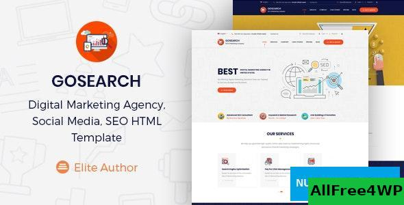 Gosearch v1.0 – Digital Marketing Agency HTML Template