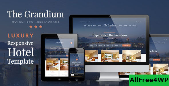 Grandium v1.6.5 – Luxury Hotel Theme