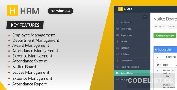 HRM v3.1.6 – Human Resource Management