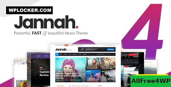 Nulled Jannah News v4.7.1 – Newspaper Magazine News AMP BuddyPress NULLED