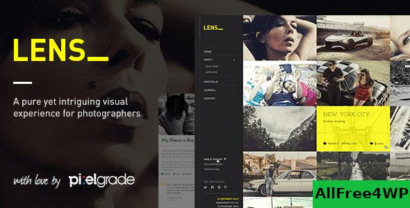 Nulled LENS v2.5.5 – An Enjoyable Photography WordPress Theme NULLED