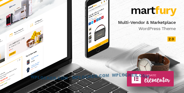 Nulled Martfury v2.4.3 – WooCommerce Marketplace Theme NULLED