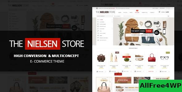Nulled Nielsen v1.9.8 – The ultimate e-commerce theme NULLED