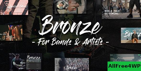 Nulled Bronze v1.0.0 – A Professional Music WordPress Theme NULLED