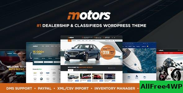 Nulled Motors v4.7.4 – Automotive, Cars, Vehicle, Boat Dealership NULLED