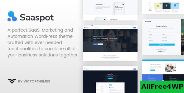 SaaSpot v1.8.6 – SaaS Marketing Automation WordPress Theme