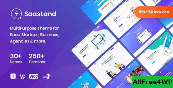 SaasLand v3.1.9 – MultiPurpose Theme for Saas & Startup