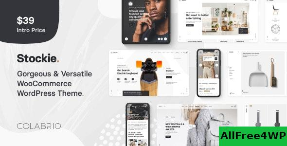 Nulled Stockie v1.1.5 – Multi-purpose Creative WooCommerce Theme NULLED