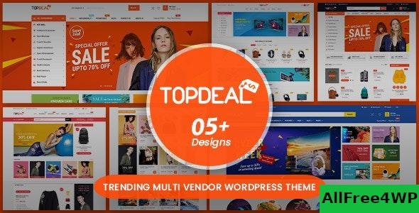 Nulled TopDeal v1.7.5 – Multipurpose Marketplace WordPress Theme NULLED