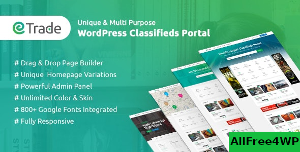 Trade v3.3.6 – Modern Classified Ads WordPress Theme