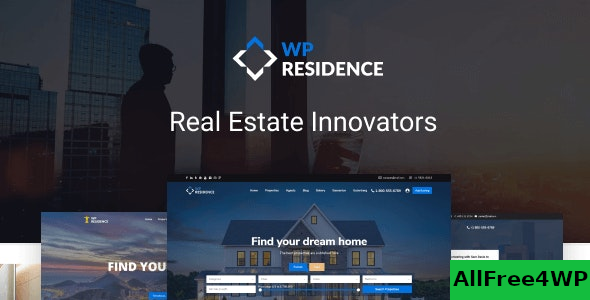 WP Residence v3.3 – Real Estate WordPress Theme