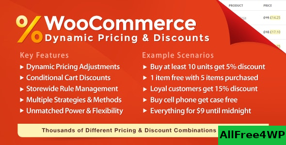 WooCommerce Dynamic Pricing & Discounts v2.3.9