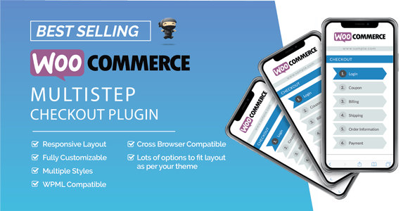 WooCommerce MultiStep Checkout Wizard v3.6.9