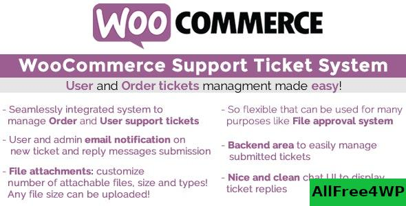 WooCommerce Support Ticket System v1.2.9