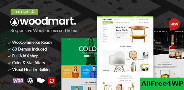 Nulled WoodMart v5.0.2 – Responsive WooCommerce WordPress Theme NULLED