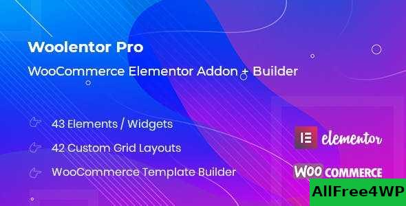 Woolementor Pro v1.4.2 – Connecting Elementor with WooCommerce