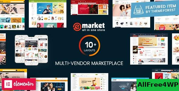 Nulled eMarket v2.6.2 – Multi Vendor MarketPlace WordPress Theme NULLED