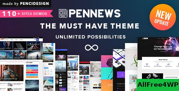 Nulled PenNews v6.5.9 – News/ Magazine/ Business/ Portfolio NULLED