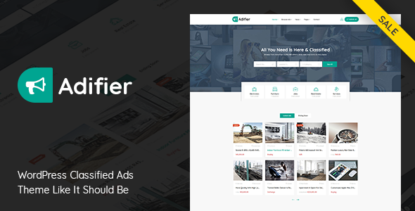 Nulled Adifier v3.8.5 – Classified Ads WordPress Theme NULLED