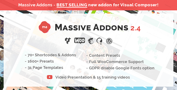 Massive Addons for WPBakery Page Builder v2.4.7
