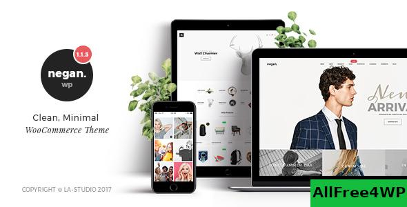 Nulled Negan v1.3.7 – Clean, Minimal WooCommerce Theme NULLED