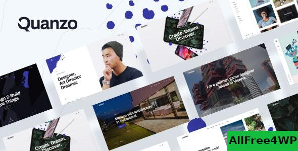 Nulled Quanzo v1.0.2 – Personal Portfolio WordPress Theme NULLED