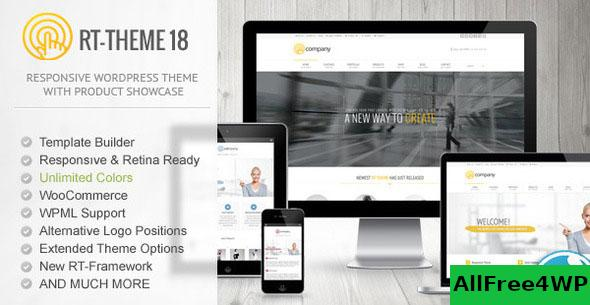 Nulled RT-Theme 18 v2.2.1 – Responsive WordPress Theme NULLED
