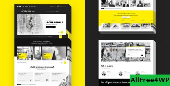 Nulled Hank v1.0.2 – Construction WordPress theme NULLED