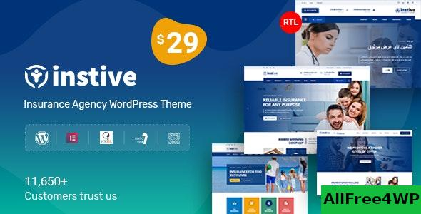 Nulled Instive v1.0.8 – Insurance WordPress Theme NULLED