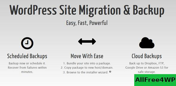 Duplicator Pro v3.8.9.3 - WordPress Site Migration & BackUp