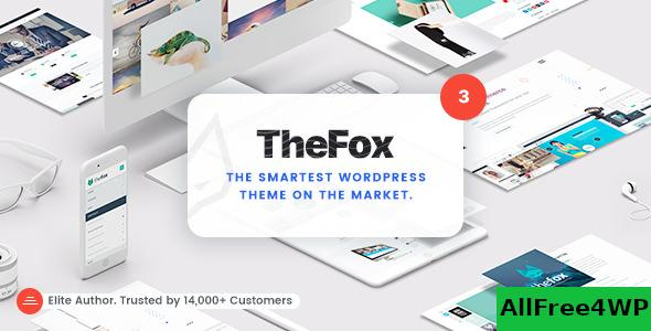 Nulled TheFox v3.9.9.8.16 – Responsive Multi-Purpose WordPress Theme NULLED