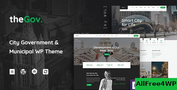 Nulled TheGov v1.1.0 – Municipal and Government WordPress Theme NULLED