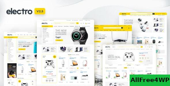 Nulled Electro v2.5.9 – Electronics Store WooCommerce Theme NULLED