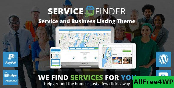Nulled Service Finder v3.5 – Provider and Business Listing Theme NULLED