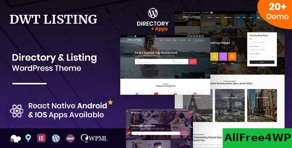 Nulled DWT v3.1.5 – Directory & Listing WordPress Theme NULLED
