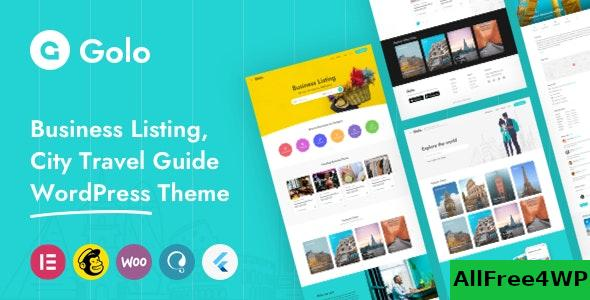 Nulled Golo v1.3.6 – City Guide WordPress Theme NULLED