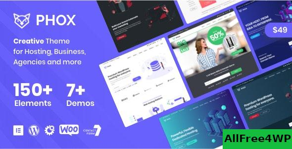 Nulled Phox v1.6.5 – Hosting WordPress & WHMCS Theme NULLED