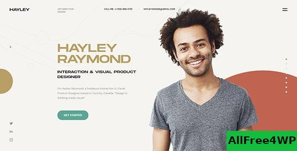 Nulled Hayley v1.0 – Personal CV/Resume WordPress Theme NULLED