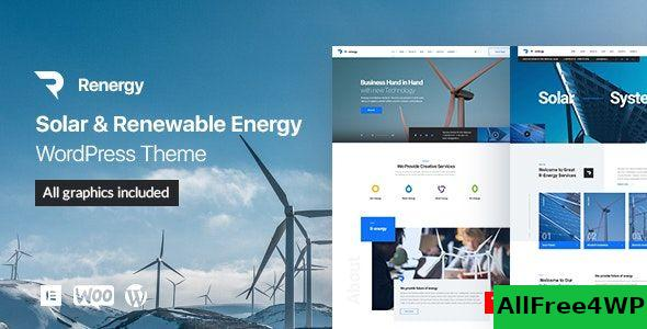 Nulled Renergy v1.0.9 – Solar and Renewable Energy WordPress Theme NULLED