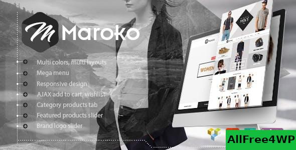 Nulled Maroko v1.3.6 – Responsive WordPress Fashion Theme NULLED