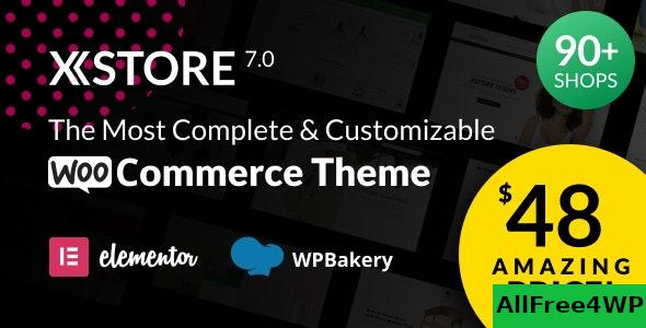 Nulled XStore v7.0 – Responsive Multi-Purpose WooCommerce WordPress Theme NULLED