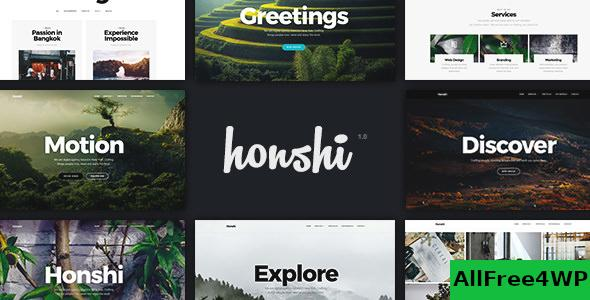 Nulled Honshi v2.5.0 – Creative Multi Purpose WordPress Theme NULLED