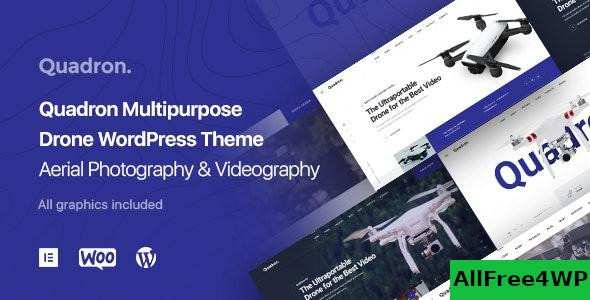 Nulled Quadron v1.0.9 – Aerial Photography & Videography Drone WordPress Theme NULLED