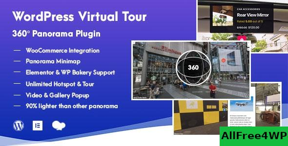 WordPress Virtual Tour 360 Panorama Plugin v1.0.5