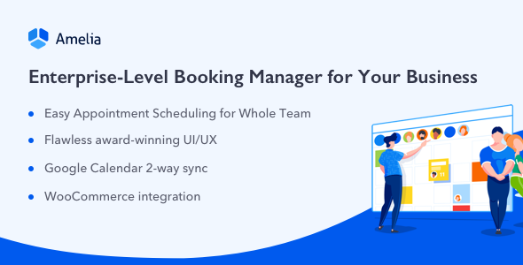 Amelia v2.9 - Enterprise-Level Appointment Booking