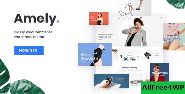 Nulled Amely v2.6.0 – Fashion Shop WordPress Theme for WooCommerce NULLED
